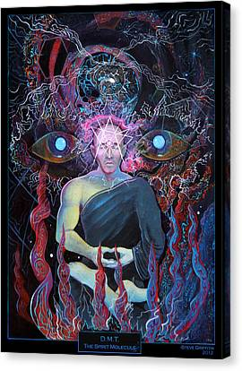Dmt - The Spirit Molecule Canvas Print by Steve Griffith