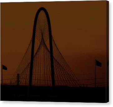 Canvas Print featuring the photograph Dna Strand by Robert McCubbin