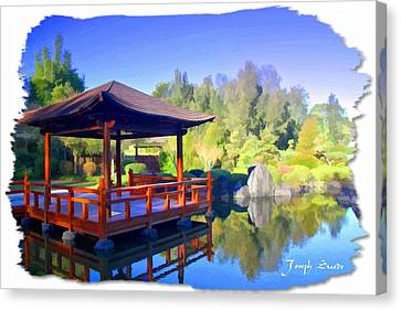 Do-00003 Shinden Style Pavilion Canvas Print