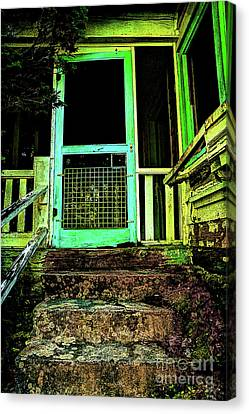 Do Any Spirits Still Live Here Canvas Print by Michael Eingle