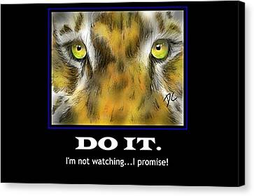 Do It Motivational Canvas Print