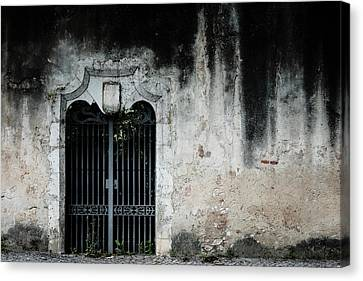 Canvas Print featuring the photograph Do Not Enter by Marco Oliveira