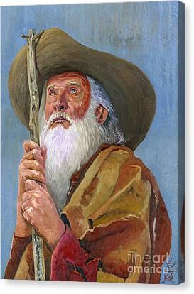 Do You Believe Canvas Print by J W Baker