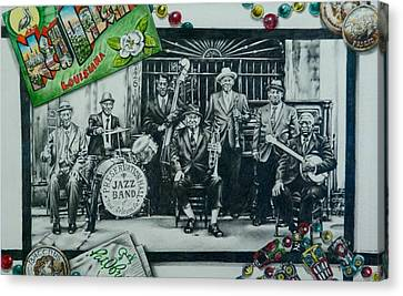 Do You Know What It Means To Miss New Orleans Canvas Print by Michael Lee Summers