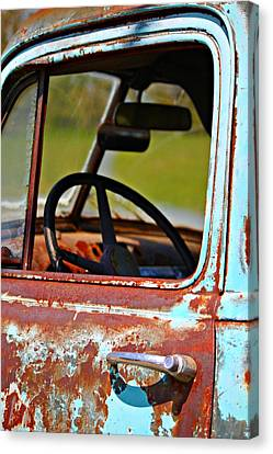 Do You Need A Ride- Fine Art Canvas Print by KayeCee Spain