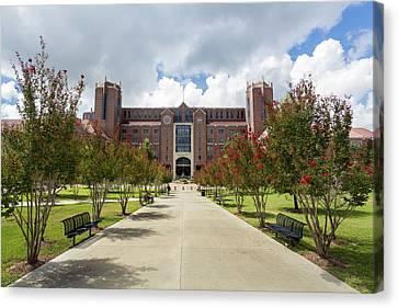 Doak S. Campbell Stadium At Florida State University Canvas Print by Bryan Pollard