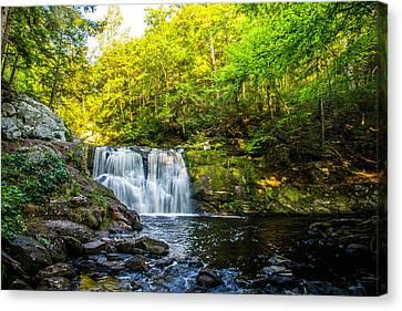 Doans Falls Lower Falls Canvas Print