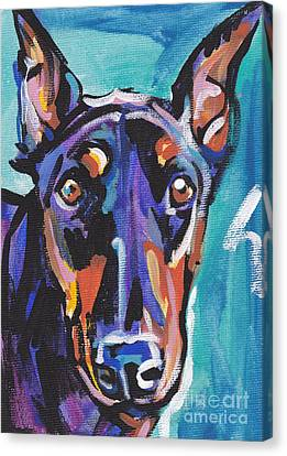 Dobie Gillis Canvas Print by Lea S