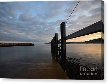 Dock Of The Bay Canvas Print