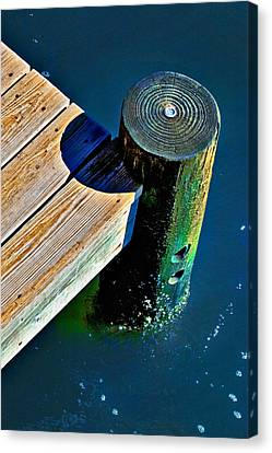 Canvas Print featuring the photograph Dock by Robert Smith
