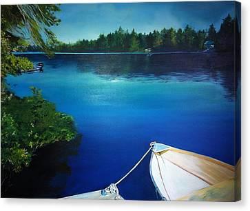 Dock View Canvas Print