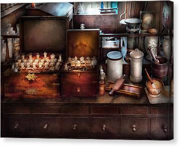 Doctor - Doctor In A Box Canvas Print by Mike Savad