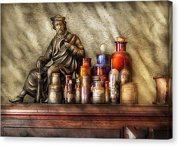 Doctor - Doctor Recommended  Canvas Print by Mike Savad