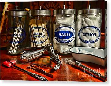 Doctor - Tongue Depressors And More Canvas Print