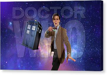 Doctor Who Canvas Print by Pat Cook