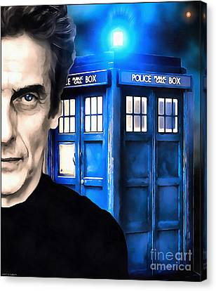 Doctor Who Peter Capaldi Canvas Print