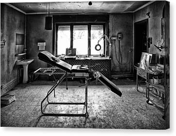 Abandoned House Canvas Print - Doctors Cabinet - Abandoned Building by Dirk Ercken
