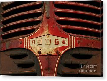 Dodge 41 Grill Canvas Print by Steve Augustin