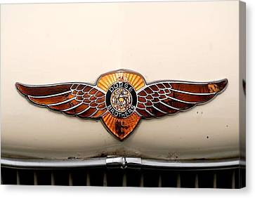 Dodge Brothers Emblem Canvas Print by David Campione
