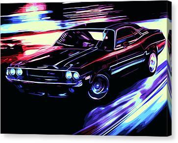 Dodge Challenger Rt 1970 Canvas Print