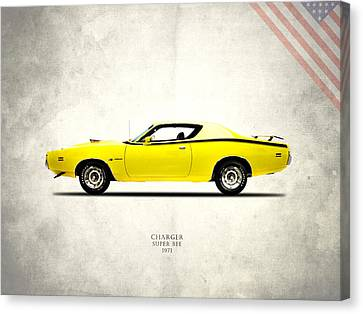 Dodge Charger Super Bee Canvas Print by Mark Rogan