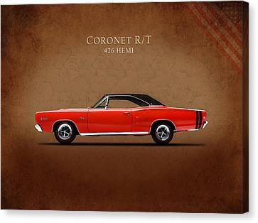 Dodge Coronet R T Canvas Print