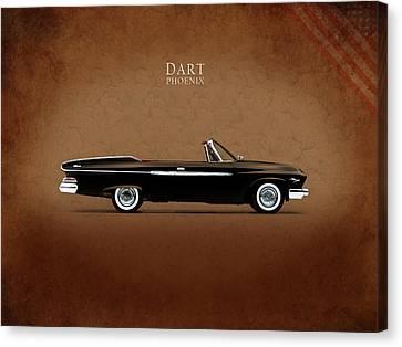 Dodge Dart D 500 Canvas Print by Mark Rogan
