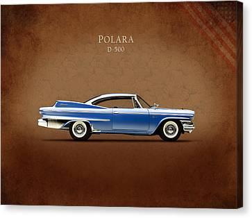 Dodge Polara D 500 Canvas Print by Mark Rogan