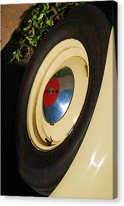 Dodge Tire Canvas Print by Rob Hans