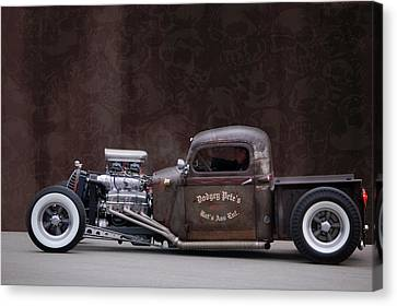 Dodgey Pete's Canvas Print by Bill Dutting