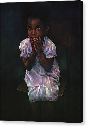 Does Jesus Love Me Canvas Print by Curtis James