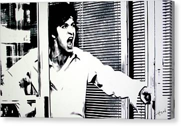 John Keaton Canvas Print - Dog Day Afternoon by Hood alias Ludzska