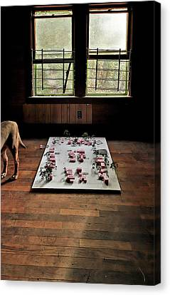 Canvas Print featuring the photograph Dog Town by Robert Harshman
