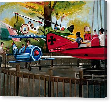 Dogfight Canvas Print by John OBrien