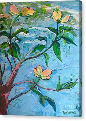Dogwood Canvas Print by Allison Coelho Picone