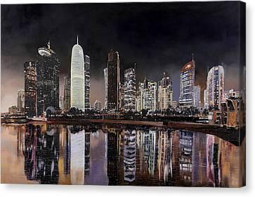 Doha Qatar Canvas Print