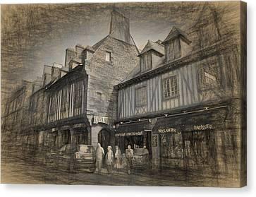 Dol Main Street Canvas Print by Karo Evans