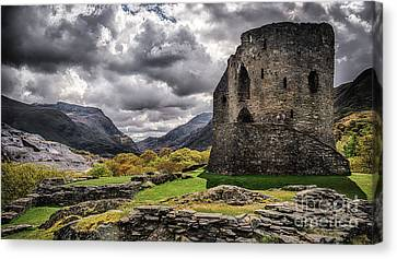 Dolbadarn Castle  Canvas Print by Amanda Elwell