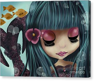 Doll From The Sea Personal Edition Canvas Print