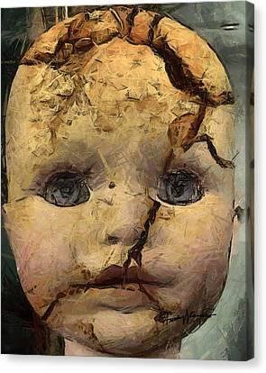 Doll Trauma Canvas Print by Anthony Caruso