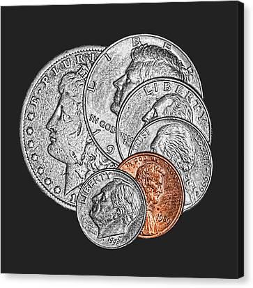 Copper Canvas Print - Dollar Ninety One by Tom Mc Nemar