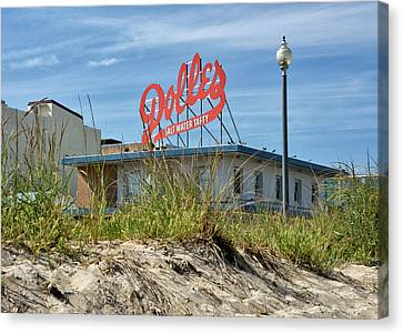 Dolles Candyland - Rehoboth Beach Delaware Canvas Print by Brendan Reals