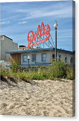 Dolles From The Beach - Rehoboth Beach Delaware Canvas Print by Brendan Reals