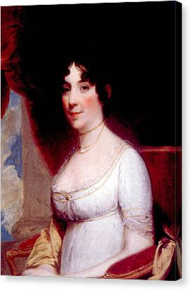 Dolley Canvas Print - Dolley Madison 1768-1849, First Lady by Everett