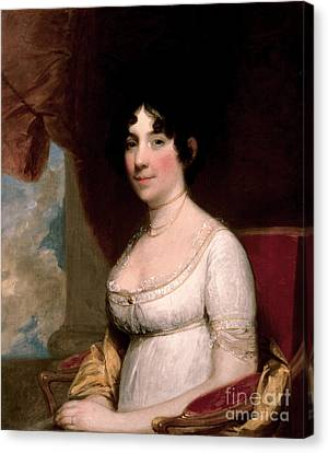 First Ladies Canvas Print - Dolley Madison, First Lady by Science Source