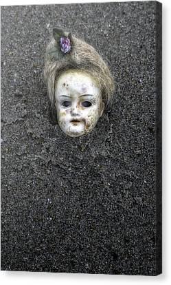 Doll's Head Canvas Print