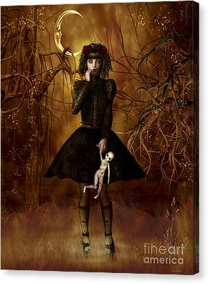 Dolly Broke Canvas Print by Shanina Conway