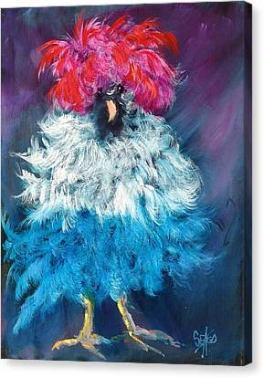 Dolly Canvas Print by Sally Seago
