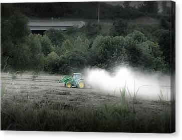 Dollywood Farming Canvas Print
