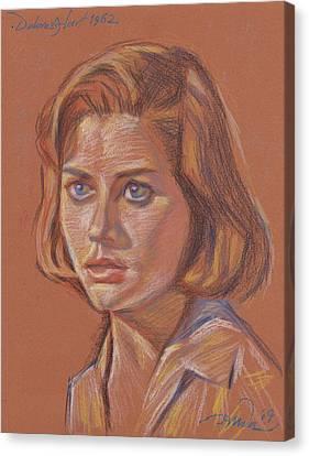 Dolores Hart Canvas Print by Horacio Prada